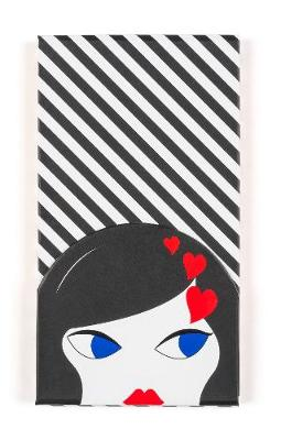 Lulu Guinness: Doll Face Magnetic Jotter Pad