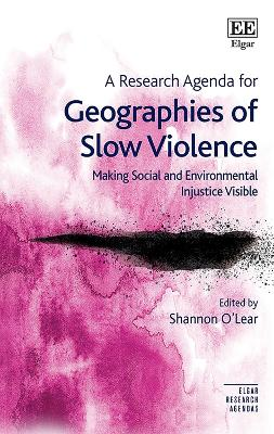 A Research Agenda for Geographies of Slow Violence