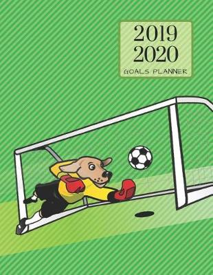 2019 2020 Soccer Football 15 Months Daily Planner