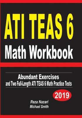ATI TEAS 6 Math Workbook