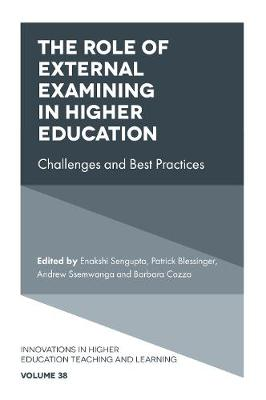 The Role of External Examining in Higher Education