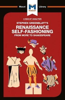 Stephen Greenblatt's Renaissance Self-Fashioning