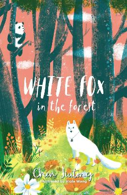 White Fox in the Forest