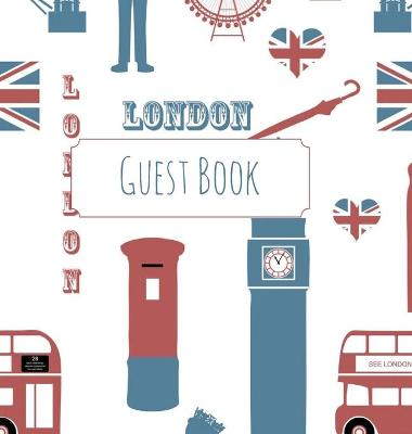 Guest Book, London Guest Book, Guests Comments, B&b, Visitors Book, Vacation Home Guest Book, Beach House Guest Book, Co