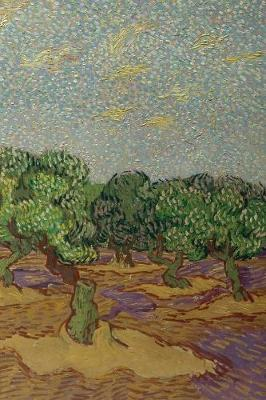 """Vincent van Gogh's Olive Trees 4x6"""" Field Journal / Field Notebook / Field Book / Memo Book / Pocket Notebook (100 pages/50 sheets)"""
