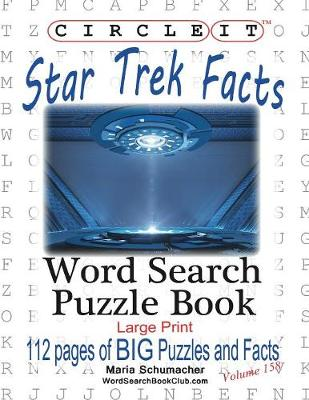 Circle It, Star Trek Facts, Word Search, Puzzle Book