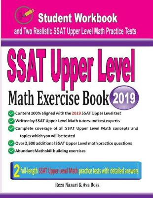 SSAT Upper Level Math Exercise Book