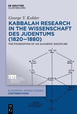 Kabbalah Research in the Wissenschaft des Judentums (1820-1880)