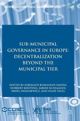 Sub-Municipal Governance in Europe