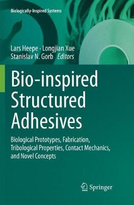 Bio-inspired Structured Adhesives