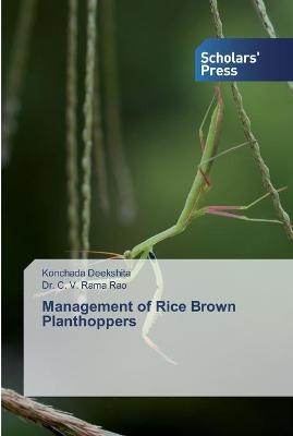 Management of Rice Brown Planthoppers