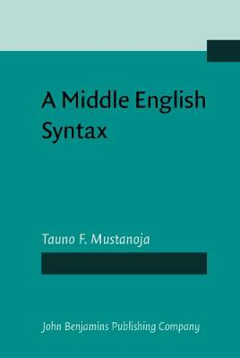 A Middle English Syntax