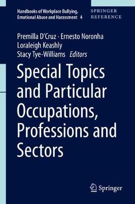 Special Topics and Particular Occupations, Professions and Sectors