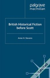 British Historical Fiction before Scott