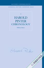 A Harold Pinter Chronology