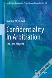 Confidentiality in Arbitration