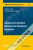 Advances in Iterative Methods for Nonlinear Equations